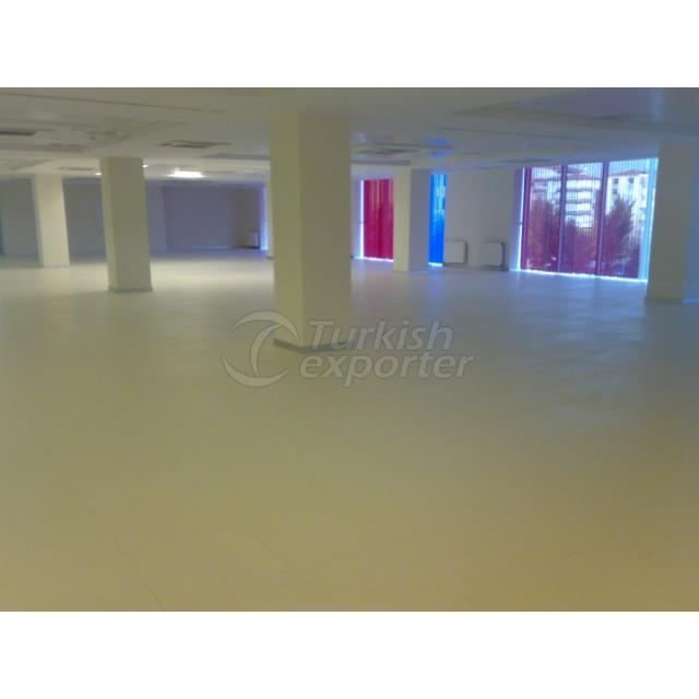 Raised Access Floor - Suspended Ceiling