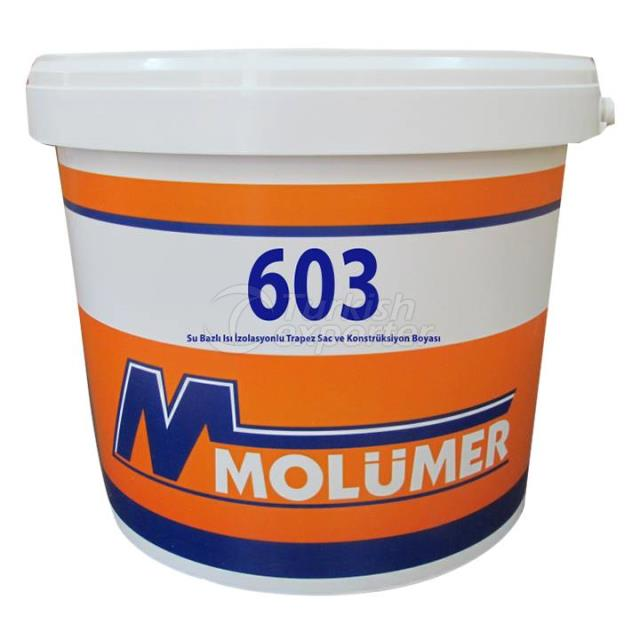 Water Based Heat Insulated Paint 603