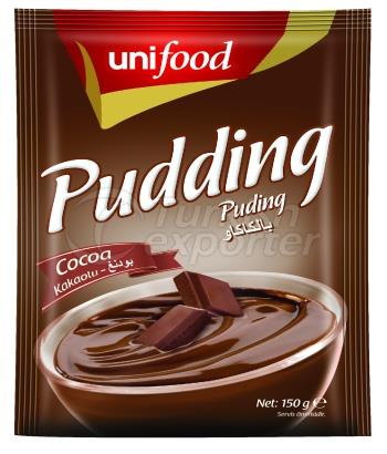 PUDDING and WHIPPED CREAM