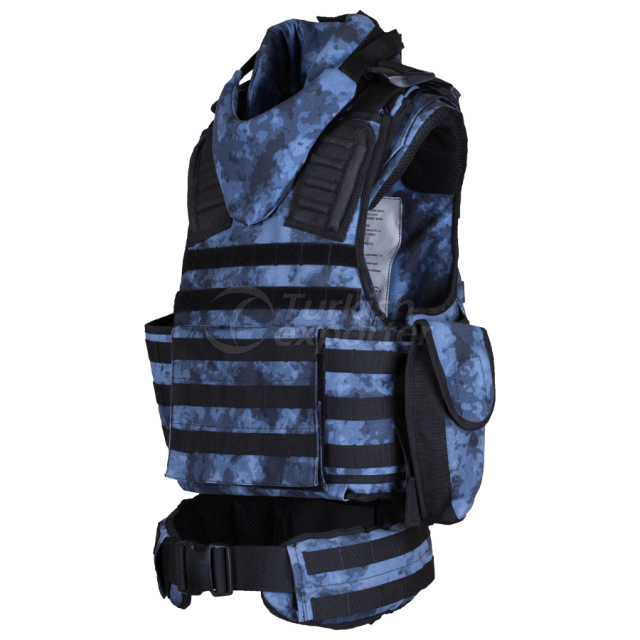 Tactical Vest with Belt