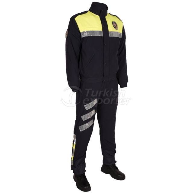 Motorcycle Police Team Outfit