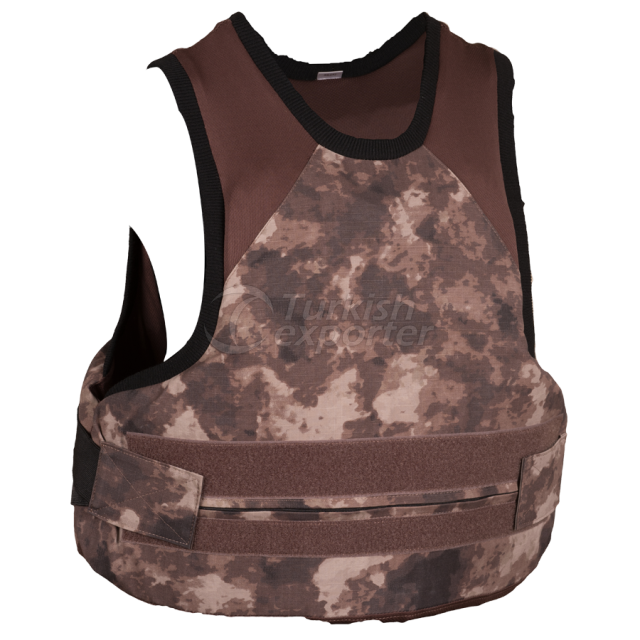Covert Vest with Spike Protection