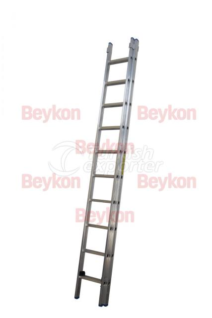 Industrial Sliding Ladder 4m