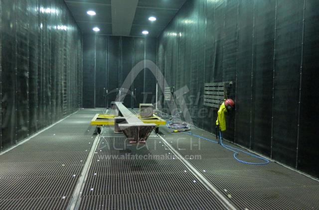 Sandblasting Facility