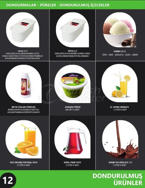 Ice Cream - Puree