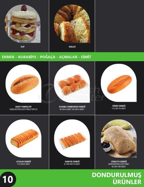 Bread - Cookies - Pastry