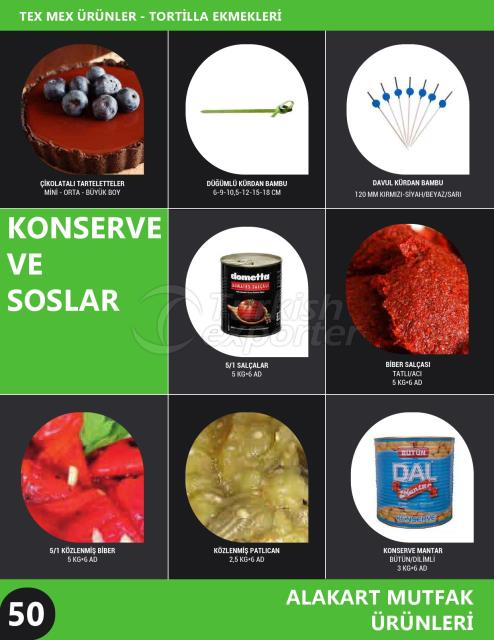 Canned Products - Sauces