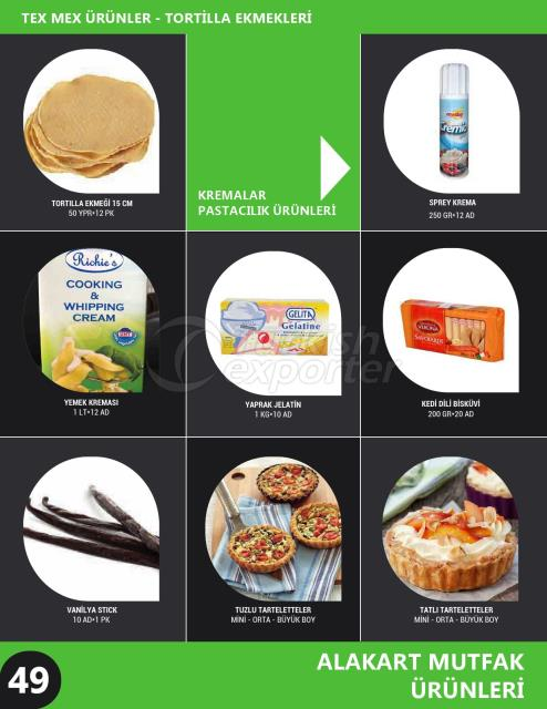 Pastry Materials