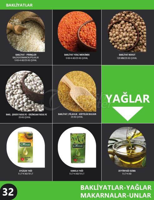 Pulses - Edible Oils