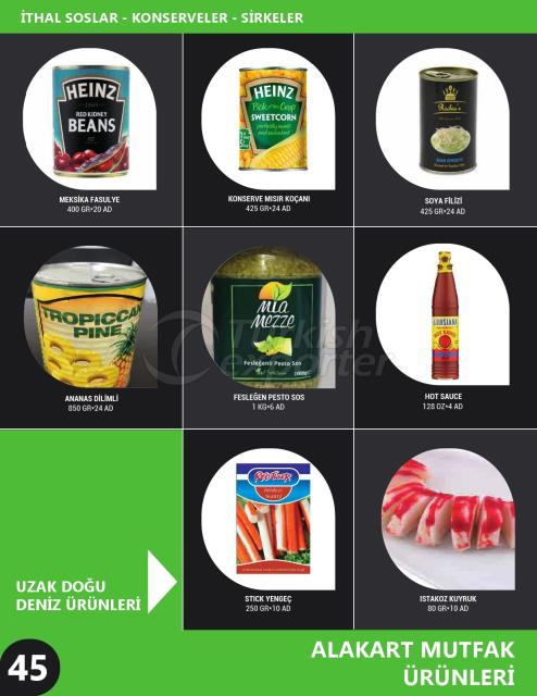 Canned Products - Vinegar