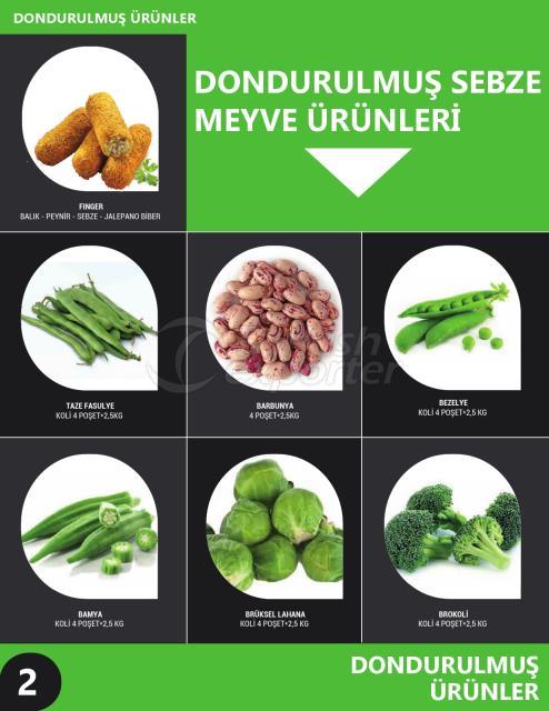Frozen Vegetable-Fruit