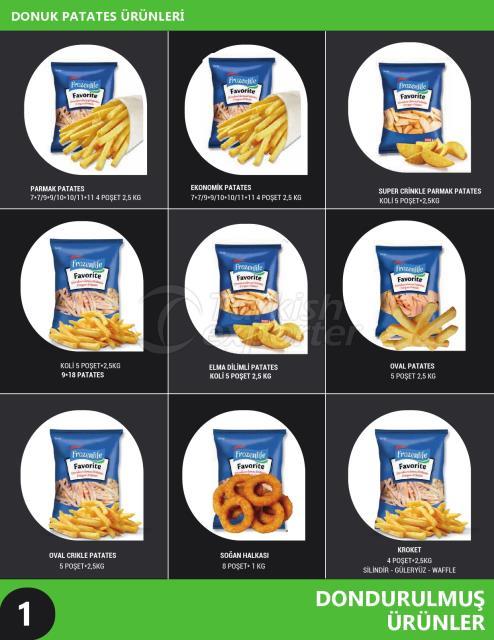 Frozen Potato Products