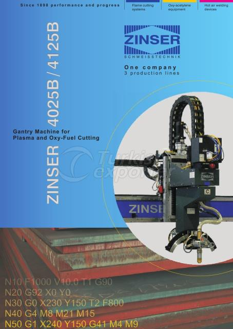ZINSER CNC Sheet Cutting Machines