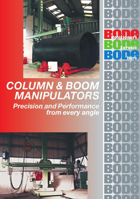 Colomn-Boom Systems