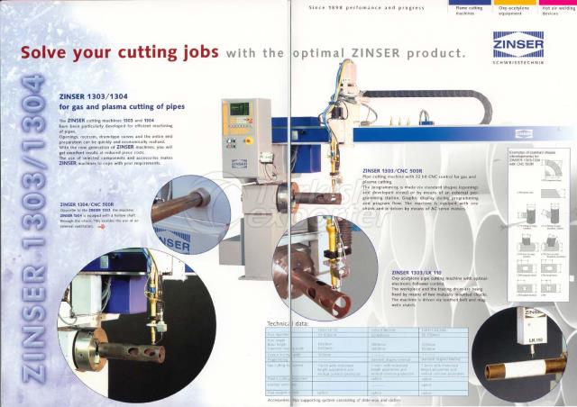 ZINSER CNC Pipe Cutting Machines