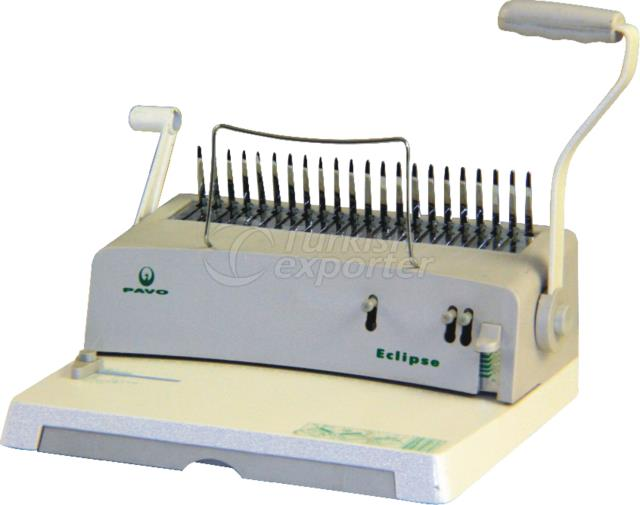 Spiral Coil Punching - Binding Machine PAVO ECLIPSE