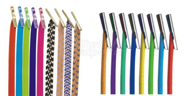 ELASTIC BANDS WITH METAL TIPPED