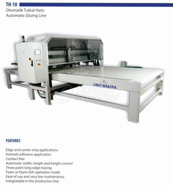 TH-10 AUTOMATIC GLUING LINE