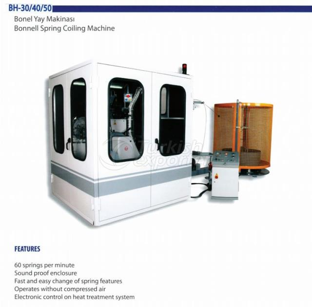 BH50 BONNELL SPRING COILING MACHINE