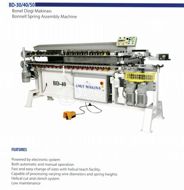 BONNELL SPRING ASSEMBLY MACHINE