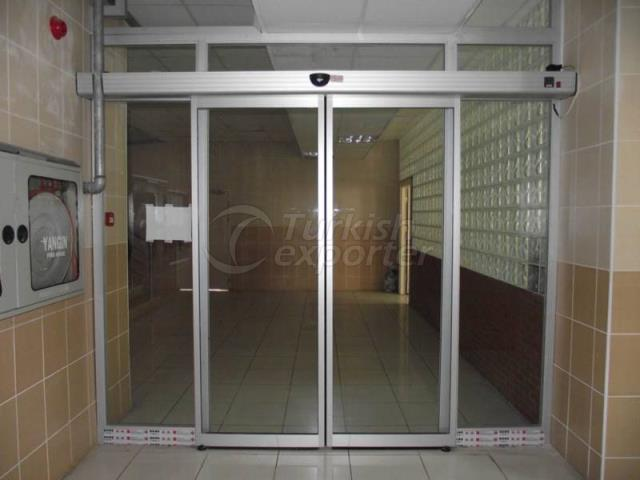 Photocell Glass Door