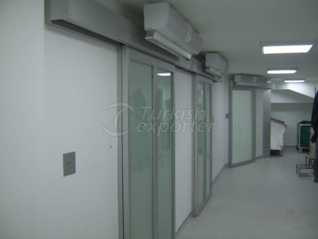 Photocell Operating Room Door