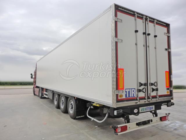 Refrigerated Semi Trailer Truck