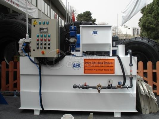 Polyelectrolyte Preparation Units