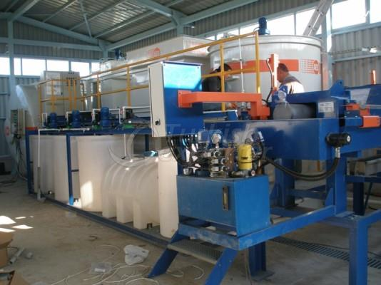 Chemical Package Treatment System