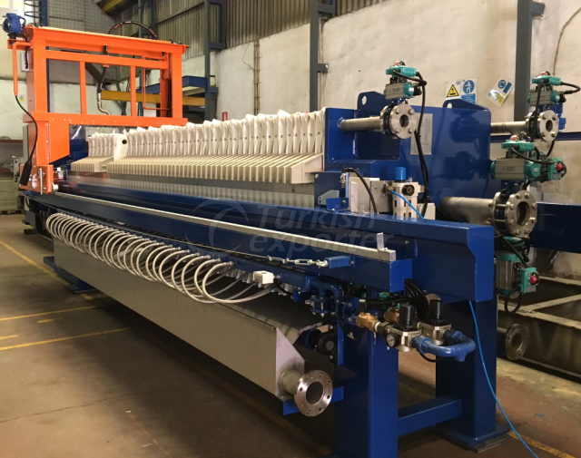 Membrane Plated Filter Press