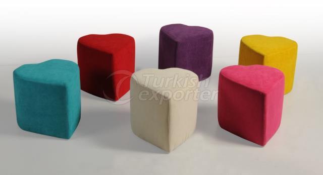 Pouf Seats Buket