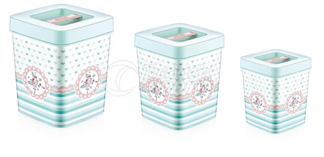 Patterned Storage Box