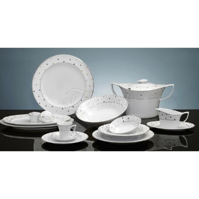 Porcelain Sets Rio Kristal B