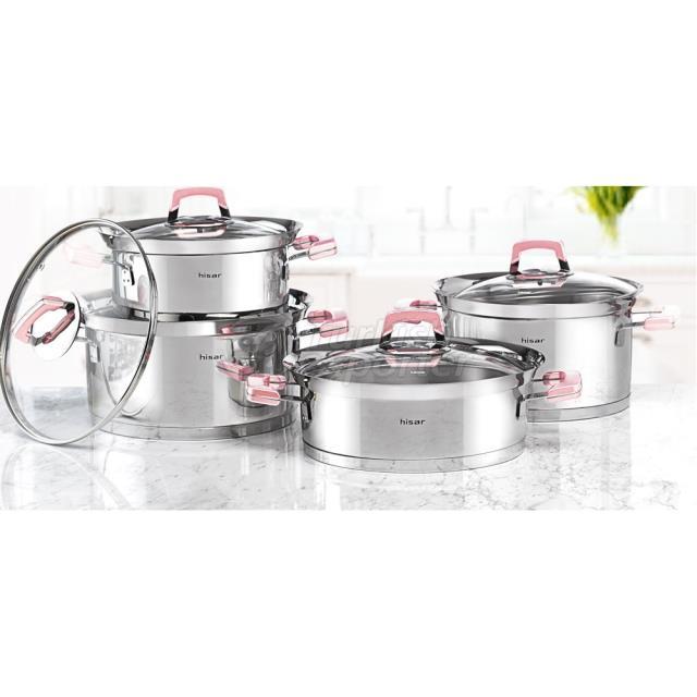 Venus Pink Pot Set