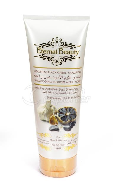 ODORLESS  BLACK GARLIC SHAMPOO 250M