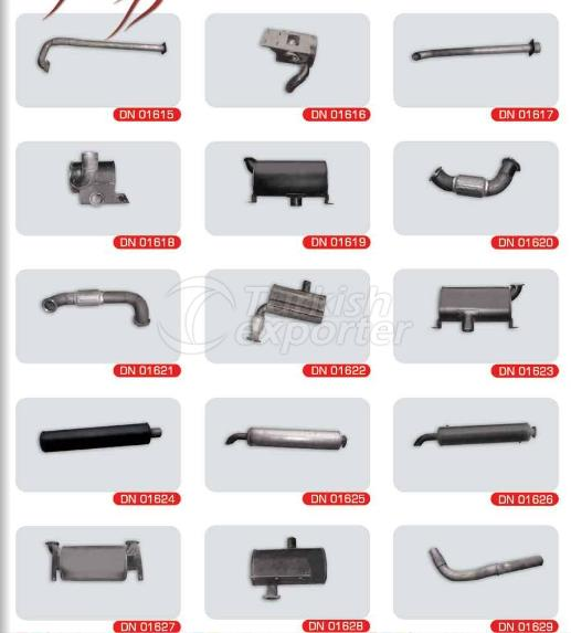 Exhaust For Construction Machinery