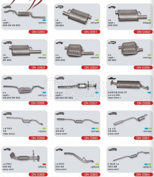 Exhaust For Ford Focus