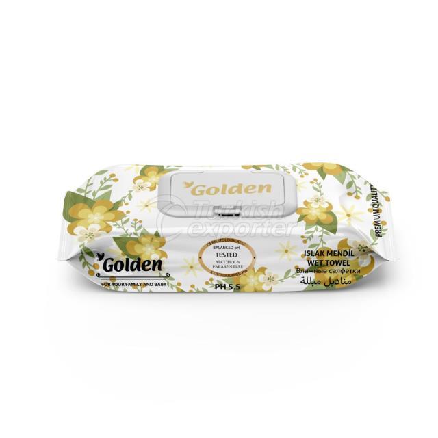 Golden 72 pcs wet wipes