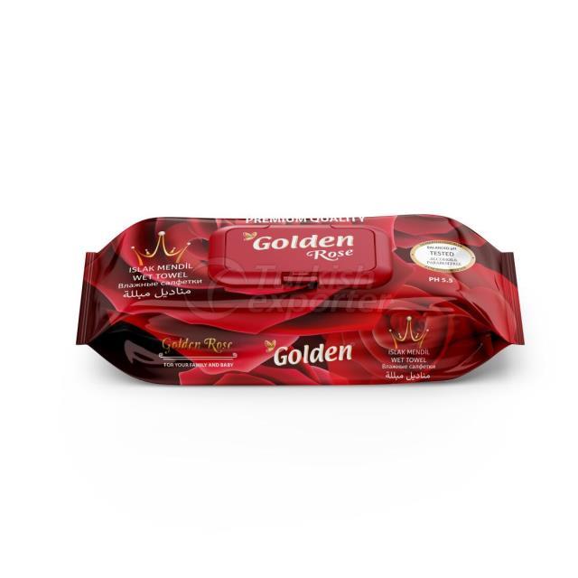 Golden 120 pcs wet wipes