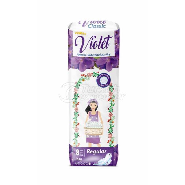 Violet Sanitary Pads