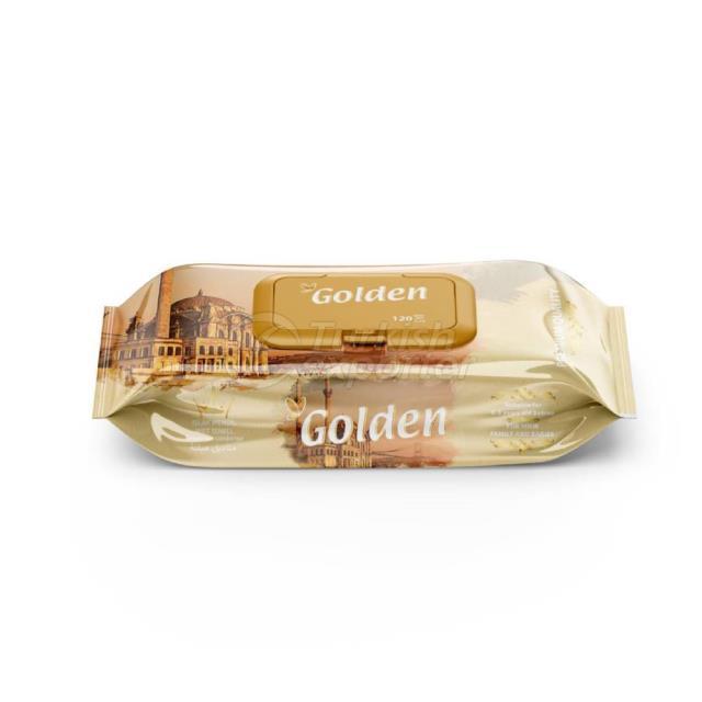 Golden Wet Towel