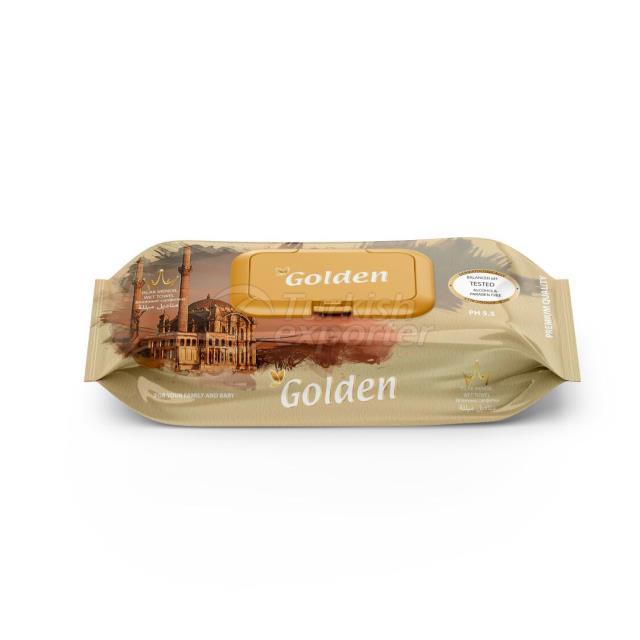 Golden 100 pcs wet wipes