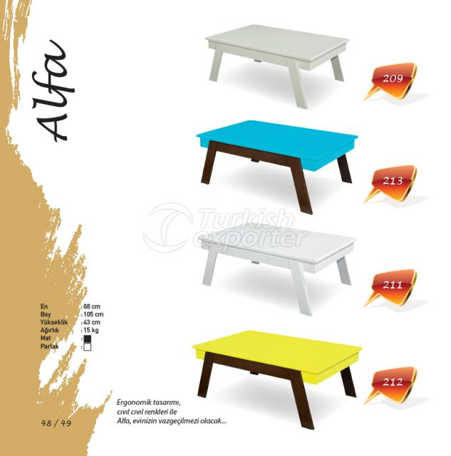 Alfa Center Table