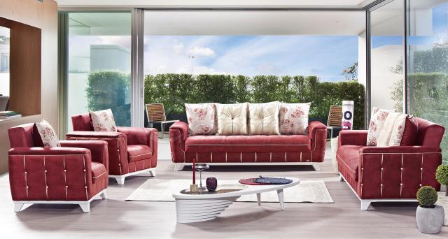 Tugra Sofa Set