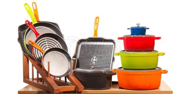Cast Iron Pots and Pans