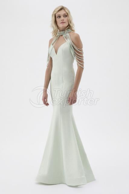 Small Size Evening Dress Y7665