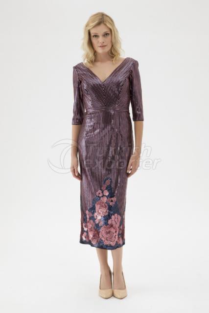 Small Size Evening Dress K7517