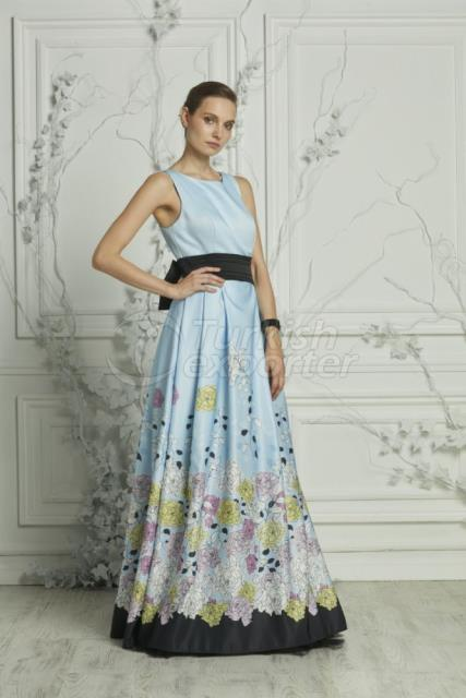 Small Size Evening Dress Y7123