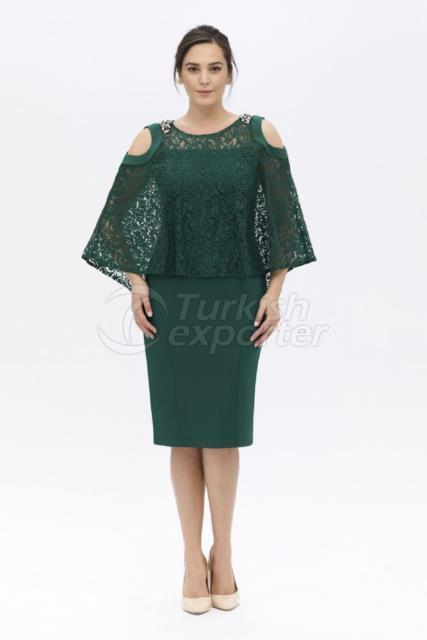 Plus Size Evening Dress Y7339