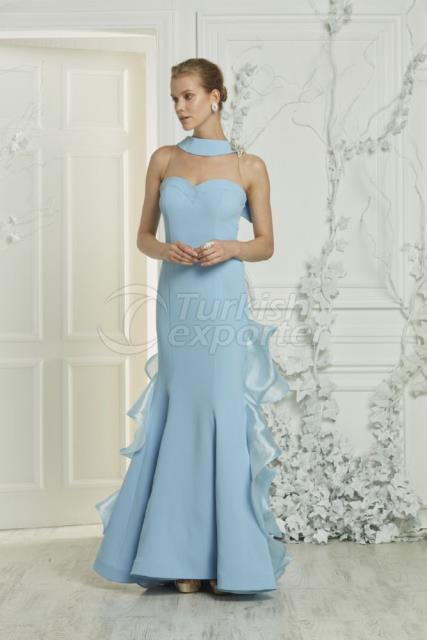 Small Size Evening Dress Y7429